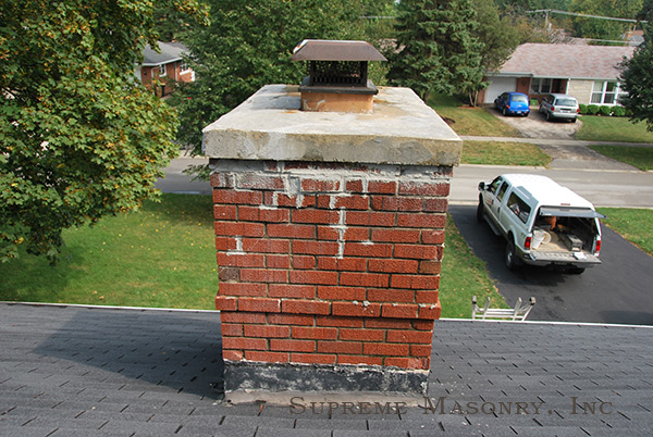 complete chimney repair